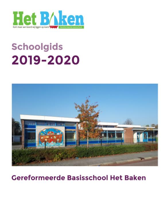 voorkant schoolgids 2019 2020